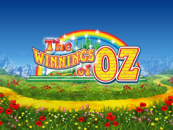The Winnings of Oz by Ash Gaming Slot Logo