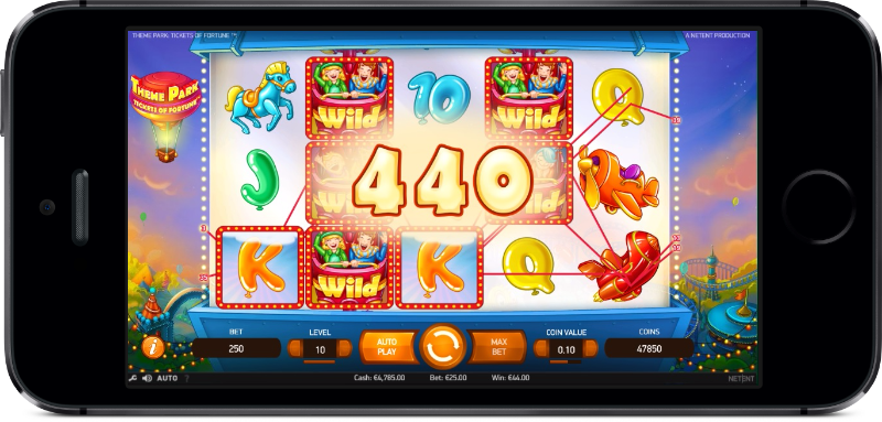 Win Extra Spins on NetEnts Theme Park: Tickets of Fortune slot machine