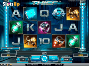 thief netent casino slots