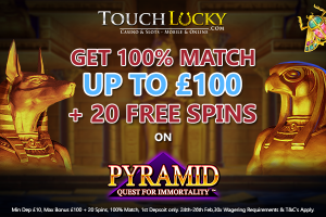 Touch Lucky Weekend Promotion