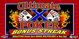 Ultimate X Bonus Streak Poker