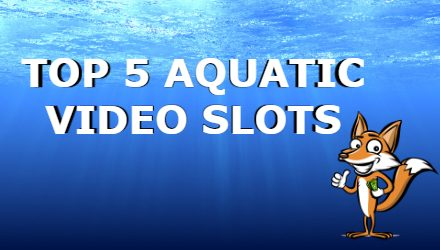 Guide To The Top 5 Underwater Themed Video Slots
