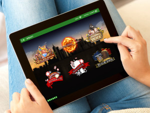Unibet Gambling on Tablet