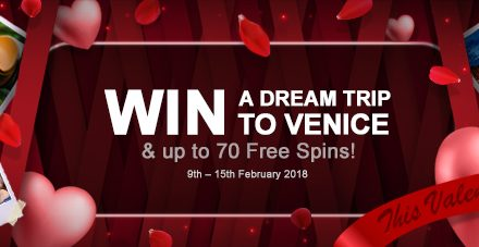 Win A Trip To Venice at VideoSlots This Valentine's Day