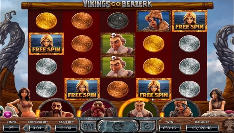 Vikings Go Berserk Mobile Slot Yggdrasil