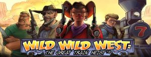 NetEnt Wild Wild West Slot Logo