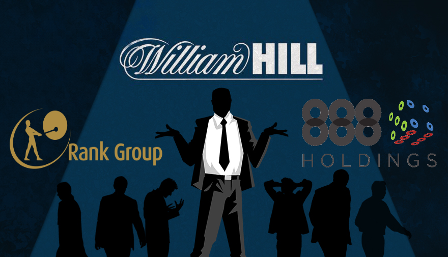 888 And Rank Pull Out Of Three Way Merger With William Hill