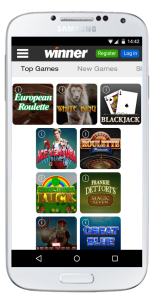 winner casino mobile games