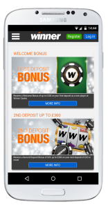 winner casino mobile promotions