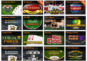 winner table casino games