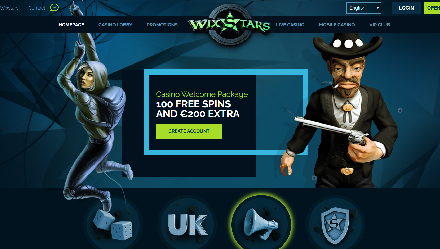 Wixstars Casino Review — £200 Welcome Bonus And 100 Free Spins