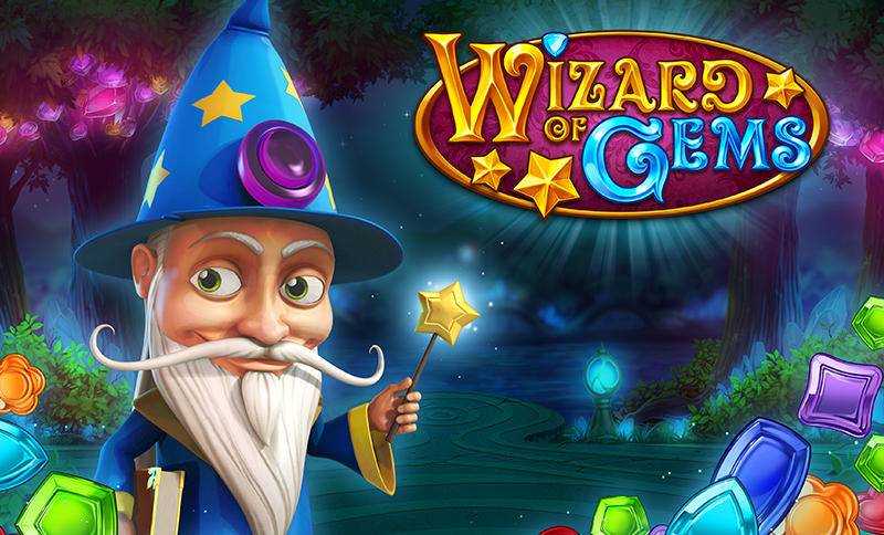Review of Wizard of Gems, A Gemtastic Slot by Play'N Go