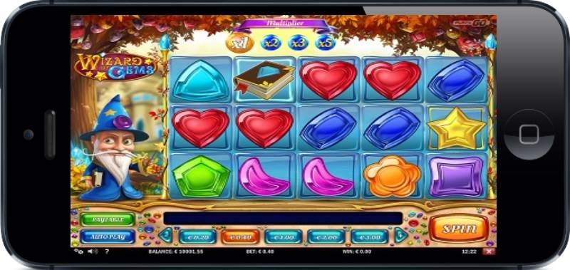 Wizard of Gems Slot by Play'N GO Mobile