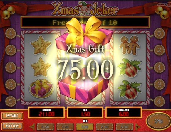 Xmas Joker Slot Machine - Play Online for Free or Real
