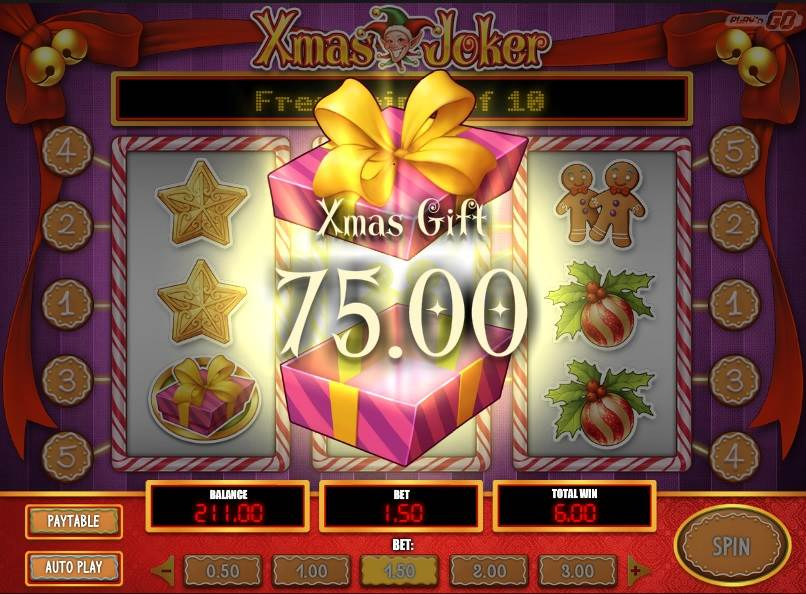 Xmas Joker Slot by Play'n GO - Xmas Gift