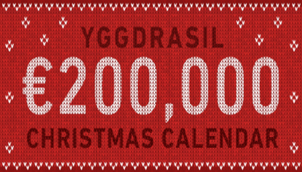 Yggdrasil's Christmas Calendar Promotion & Where You Can Play It