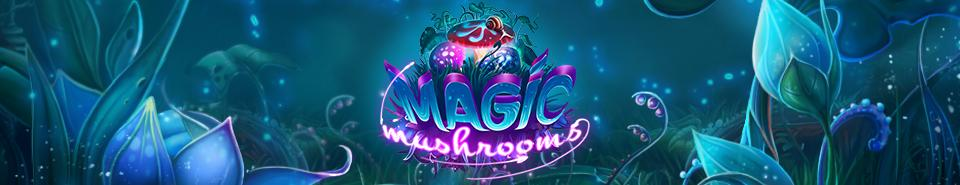 Magic Mushrooms Slot Game Logo