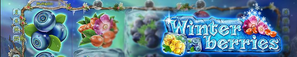 Winterberries Slot Logo